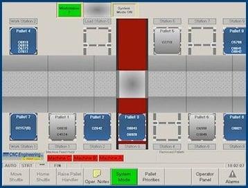 Makino MMC pallet system CNC retrofit & software