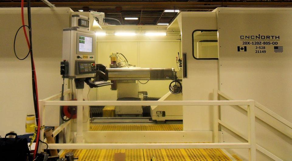 CNC North 20-120-O-S Grinder