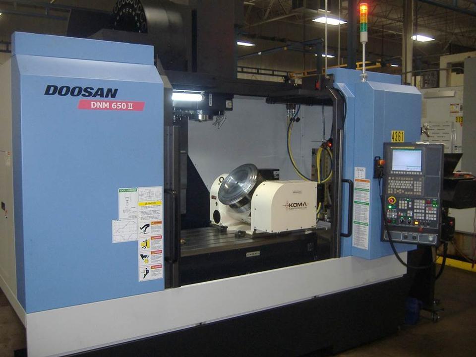 Doosan DNM-650 II