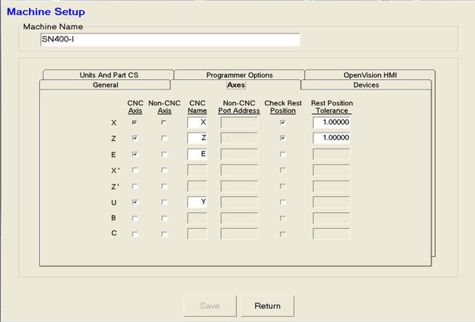 Open Vision™ Grind Machine Configuration - Offline Programmer