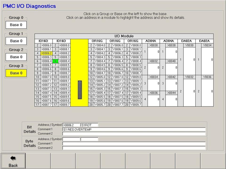 Open Vision™ Mill/Turn - PMC I/O Diagnostics