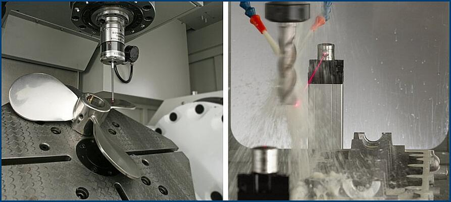 On Machine Measurement Probes & Lasers