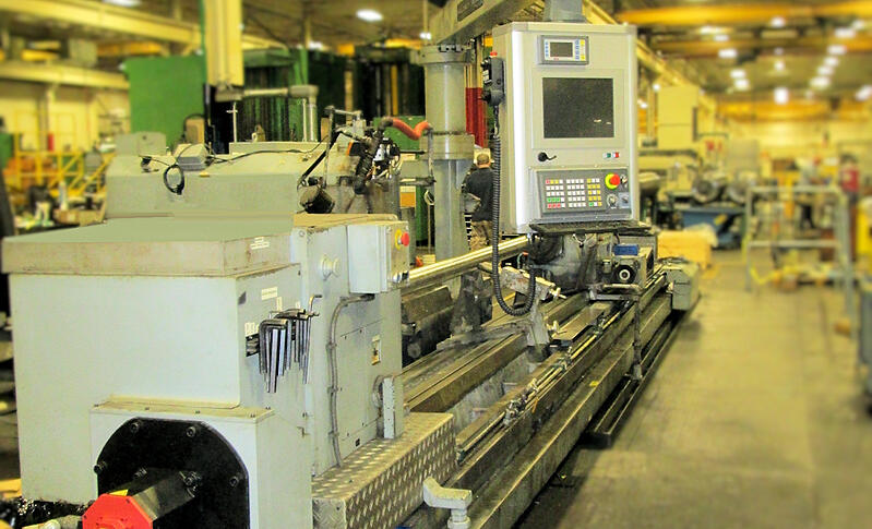 CNC Retrofit for Roll Grinder