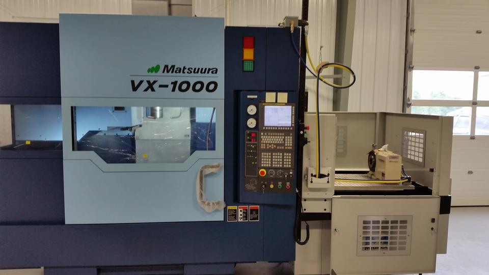 Matsuura VX-1000 Pallet Changer
