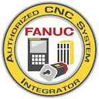 FANUC Authorized CNC Systems Integrator Logo