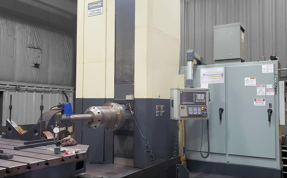 Toshiba BTD 13 R22 5-Axes Machining Center